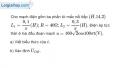 Bài 14.15 trang 41 SBT Vật Lí 12