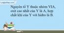 Bài 10.11 trang 26 SBT Hóa học 10