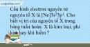 Bài 10.12 trang 26 SBT Hóa học 10