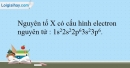 Bài 10.6 trang 25 SBT Hóa học 10