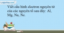 Bài 12.14 trang 31 SBT Hóa học 10