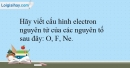 Bài 12.15 trang 31 SBT Hóa học 10