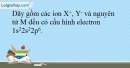 Bài 12.7 trang 30 SBT Hóa học 10