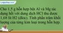 Bài 18.16 trang 40 SBT Hóa học 12