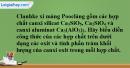 Bài 18.5 trang 26 SBT hóa học 11