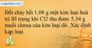 Bài 18.17 trang 40 SBT Hóa học 12