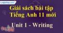 Writing - trang 10 Unit 1 SBT Tiếng anh 11 mới