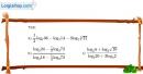 Bài 2.15 trang 109 SBT giải tích 12