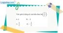 Bài 2.20 trang 109 SBT giải tích 12