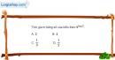 Bài 2.21 trang 109 SBT giải tích 12