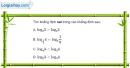 Bài 2.25 trang 110 SBT giải tích 12