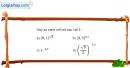 Bài 2.27 trang 117 SBT giải tích 12