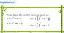 Bài 2.28 trang 117 SBT giải tích 12