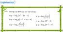 Bài 2.32 trang 117 SBT giải tích 12