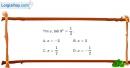 Bài 2.42 trang 119 SBT giải tích 12
