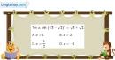 Bài 2.43 trang 119 SBT giải tích 12