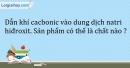 Bài 29.2 Trang 37 SBT Hóa học 9