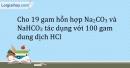 Bài 29.7 Trang 37 SBT Hóa học 9