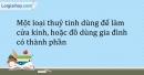 Bài 30.2 Trang 38 SBT Hóa học 9