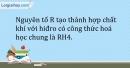 Bài 31.5 Trang 39 SBT Hóa học 9