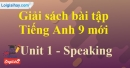 Speaking - Unit 1- SBT tiếng anh 9 mới