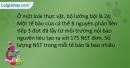 Bài 6,7,8,9,10 trang 28 SBT Sinh học 9