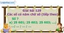 Bài 129 : Các số có năm chữ số (tiếp theo)