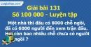 Bài 131 : Số 100 000 - Luyện tập