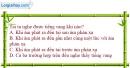 Bài 14.1 trang 32 SBT Vật lí 7
