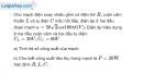 Bài 15.10 trang 43 SBT Vật Lí 12