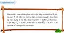 Bài 15.11 trang 44 SBT Vật Lí 12