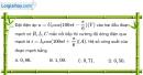 Bài 15.4 trang 42 SBT Vật Lí 12