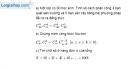 Bài 2.24 trang 76 SBT đại số và giải tích 11