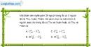 Bài 2.30 trang 77 SBT đại số và giải tích 11