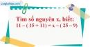 Bài 95 trang 81 SBT toán 6 tập 1