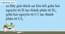 Bài 13.12 trang 33 SBT Hóa học 10