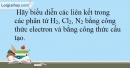 Bài 13.13 trang 33 SBT Hóa học 10