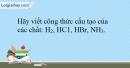 Bài 13.22 trang 34 SBT Hóa học 10