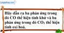 Bài 19.6 trang 27 SBT hóa học 11