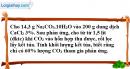 Bài 19.8 trang 27 SBT hóa học 11