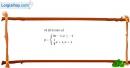 Bài 2.11 trang 35 SBT đại số 10