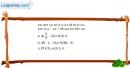 Bài 2.12 trang 35 SBT đại số 10