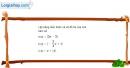Bài 2.14 trang 36 SBT đại số 10