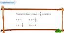 Bài 2.55 trang 125 SBT giải tích 12