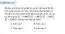 Bài 14.10 trang 46 SBT Vật lí 6