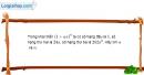 Bài 2.34 trang 79 SBT đại số và giải tích 11