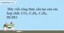 Bài 15.12 trang 37 SBT Hóa học 10