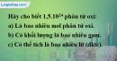 Bài 24.14 trang 34 SBT hóa học 8