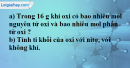 Bài 24.15 Trang 34 SBT hóa học 8
