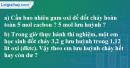 Bài 24.9 trang 33 SBT hóa học 8